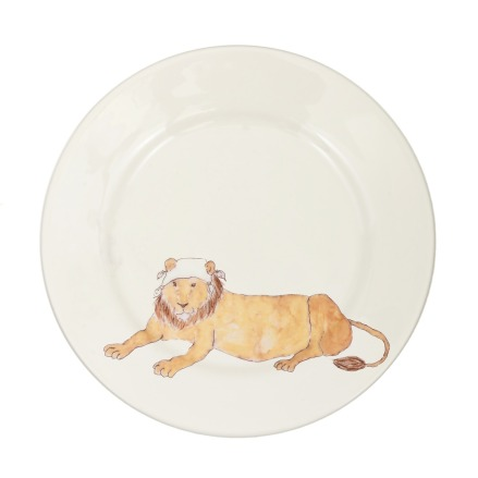 SP-LNH_Side_plate_lion_napkin_hat